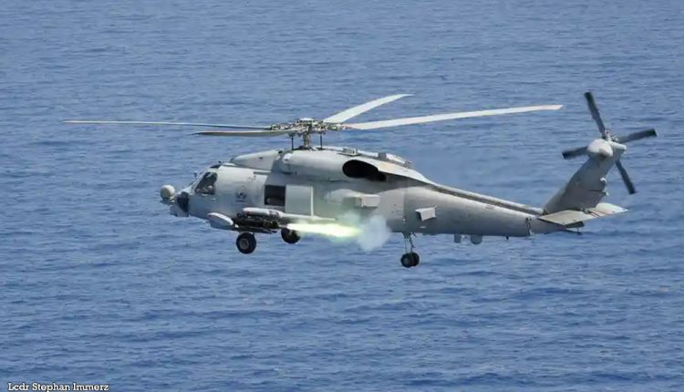 Australian MH60R Seahawk Helicopter