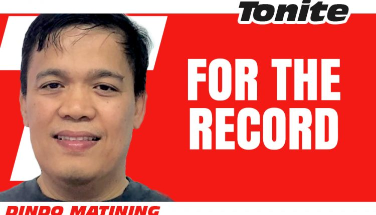columnists—New-LOGO-Dindo-Matining-tonite for the record
